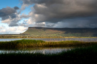 Benbulben across the bay, Rosses Point, Sligo